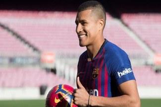 Barcelona: Jeison Murillo espera no tener la misma suerte de Yerry Mina