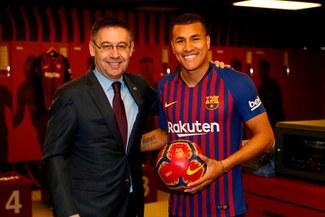 """Jeison Murillo: """"Mi sueño es que me compre el Barcelona a final de temporada"""" [VIDEO]"""