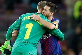 Lionel Messi criticó suplencia de Ter Stegen en Rusia 2018