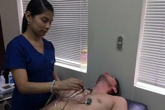 Con Diego Penny, el plantel de la Universidad San Martín pasó por exámenes médicos