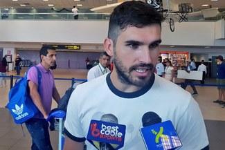Germán Pacheco llegó al Perú para jugar por la Universidad César Vallejo