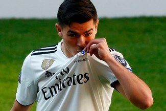 Brahim Díaz, flamante refuerzo blanco, ¡era hincha del Barcelona y Messi! [VIDEO]
