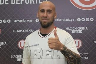 Universitario: Guillermo Rodríguez es presentado oficialmente en el equipo 'crema' [VIDEO]