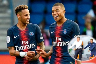 Neymar le enseña el baile del Fortnite a Kylian Mbappé [VIDEO]
