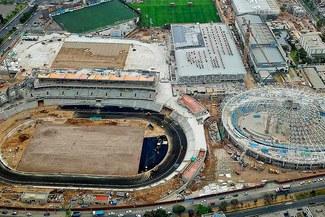 Lima 2019: Inició el asfaltado del 'Estadio Atlético' en VIDENA [FOTOS]