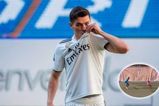 Brahim Díaz y el golazo que se mandó en el último entrenamiento del Madrid [VIDEO]