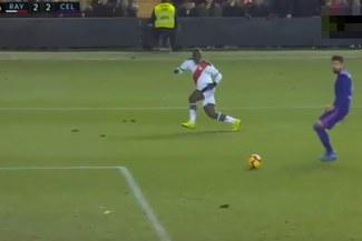 Luis Advíncula y su sensacional pase-gol para el 2-2 del Rayo Vallecano ante Celta de Vigo [VIDEO]