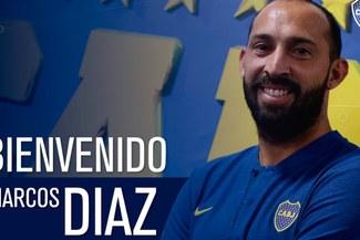 ¡OFICIAL! Marcos Díaz es nuevo arquero de Boca Juniors