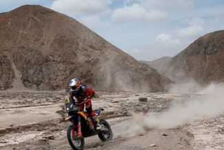 Dakar 2019: Sam Sunderland salió victorioso de la quinta etapa del torneo