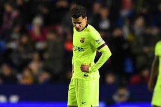 Barcelona: ¿Qué pasó con Coutinho que solo aparece en la banca de suplentes?