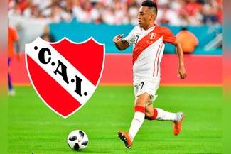 Christian Cueva está a un paso de ser nuevo jugador de Independiente [FOTO]