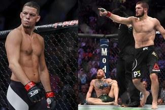 """¡Se calienta el UFC! Nate Diaz ataca a Khabib por meterse con McGregor: """"Yo te metí un 'lapo' en la cabeza y no hiciste ni m..."""""""