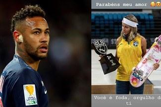 ¡Está templadazo! Neymar revela su relación con la skater Leticia Bufoni [FOTOS]