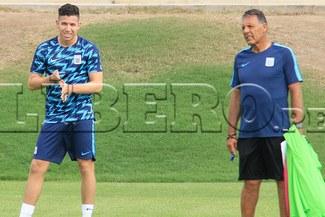 Adrián Ugarriza ya está en acción con Alianza Lima e hizo fútbol en partido de práctica [VIDEO]