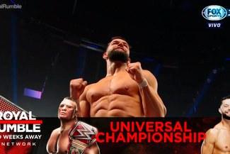 WWE RAW: Finn Bálor luchará con Brock Lesnar en Royal Rumble por el título Universal [VIDEOS]