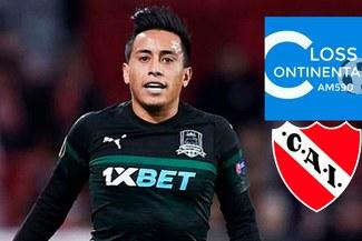 Christian Cueva cierra hoy su fichaje por Independiente, señala Mariano Closs [VIDEO]