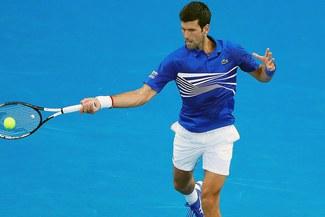 Se paseó: Novak Djokovic clasificó a la segunda ronda del Abierto de Australia