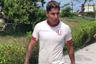 Raúl Ruidíaz fue la sorpresa en los entrenamientos con Universitario en Campo Mar