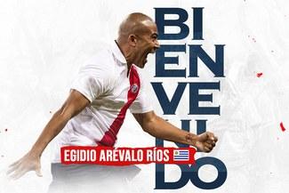 Egidio Arévalo Ríos es anunciado de manera oficial como nuevo jugador de Deportivo Municipal [FOTO]