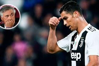 """Ancelotti arremete contra Cristiano: """"Hay que tratarlo como a los demás"""""""