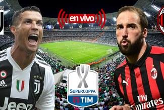 Juventus vs AC Milan VER EN VIVO ONLINE vía DirecTV Sports GRATIS Aquí: Horarios, alineaciones confirmadas y transmisión de la final de la Supercopa de Italia [GUÍA TV]