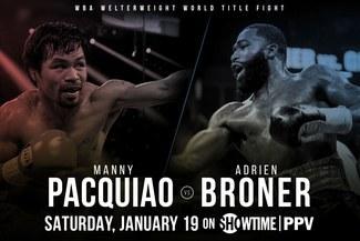 Manny Pacquiao vs Adrien Broner EN VIVO PPV Showtime: fecha, horarios, canales y cartelera del regreso de 'Pacman' a Las Vegas