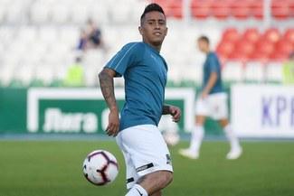 Christian Cueva pide a Krasnodar que lo deje ir a Independiente
