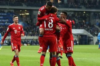 Bayern Múnich venció 3-1 al Hoffenheim por la fecha 17 de la Bundesliga [RESUMEN Y GOLES]