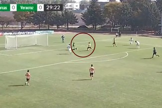 Irven Ávila anotó en el partido Morelia vs Veracruz de la Liga MX Sub-20 [VIDEO]