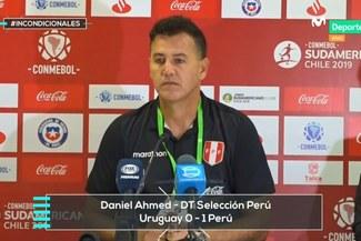 """Daniel Ahmed: """"El juego es la mayor fortaleza de Perú, cuando no lo hace, deja de competir"""" [VIDEO]"""