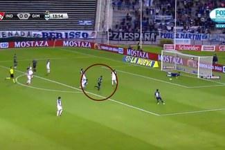 La gran jugada de Alexi Gómez que casi termina en su primer gol con Gimnasia La Plata [VIDEO]