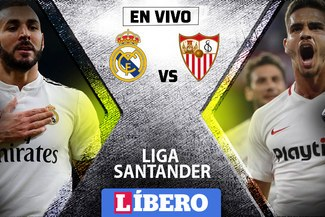 Real Madrid vs Sevilla EN VIVO: partidazo por la fecha 20 de la Liga Santander