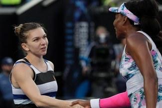 Halep elimina a Venus y ahora va por Serena en Australia