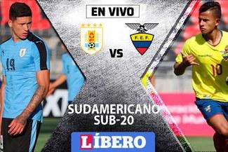 Uruguay vs Ecuador EN VIVO por la segunda fecha del Sudamericano Sub-20 en Chile
