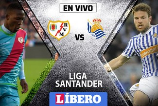 ALINEACIONES | Rayo Vallecano vs Real Sociedad EN VIVO con Luis Advíncula por la Liga Santander