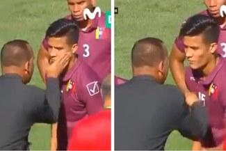 El fuerte llamado de atención de Rafael Dudamel a uno de sus jugadores en el Sudamericano Sub 20 [VIDEO]