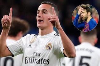La respuesta de Lucas Vázquez a Piqué que no gustará en Barcelona