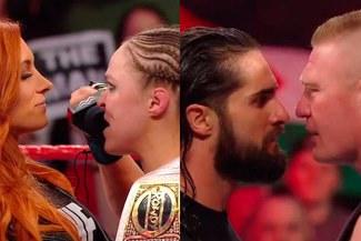 WWE RAW: Becky Lynch retó a Ronda Rousey y Brock Lesnar destrozó a Seth Rollins [VIDEOS]