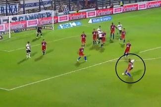 Espectacular gol de Alexi Gómez para sentenciar el triunfo de Gimansia LP [VIDEO]