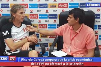 Ricardo Gareca asegura que la crisis de la FPF no afectará a la selección peruana [VIDEO]
