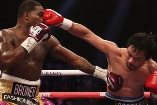 Manny Pacquiao retuvo su título y retó a Mayweather