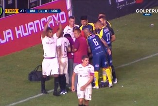 Universitario vs U. de Concepción EN VIVO: Jersson Vásquez fue reemplazado por Werner Schuler por lesión [VIDEO]