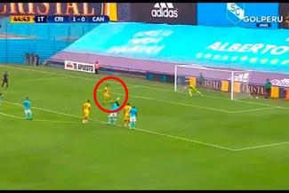 Sporting Cristal vs Academia Cantolao: Daniel Chávez anotó golazo 'a lo panenka' a Patricio Álvarez [VIDEO]
