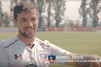 """Gabriel Costa: """"Me ilusiona ser convocado a la Selección Peruana"""""""