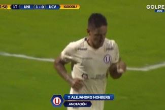 Universitario vs César Vallejo: revive el golazo de Alejandro Hohberg tras pase de Jersson Vásquez [VIDEO]
