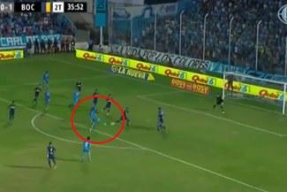 Federico Lértora anotó el 1-1 ante Boca Juniors por la Superliga Argentina [VIDEO]