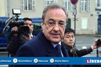 Florentino Pérez asegura que no llegará otro delantero más al Real Madrid