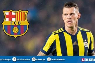 Martin Skrtel rechazó oferta del Barcelona