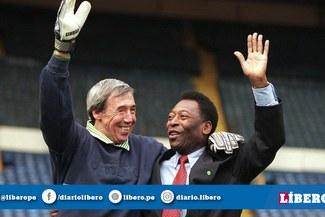 """Pelé a Gordon Banks: """"Yo marqué el gol, pero él lo paró"""""""