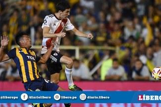 River Plate empató 1-1 con Rosario Central por la Superliga Argentina [RESUMEN Y GOLES]